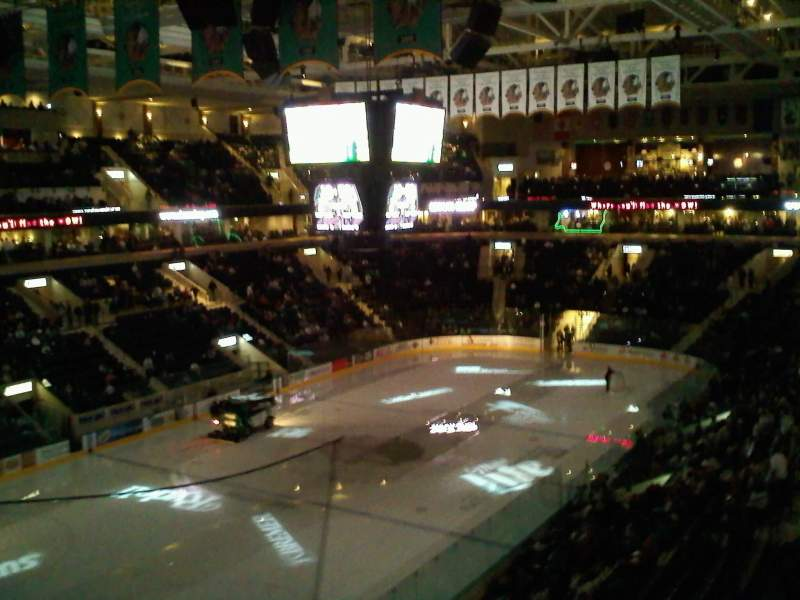 Seating view for Ralph Engelstad Arena Section 310