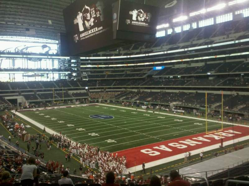 Seating view for AT&T Stadium Section 227 Row 12 Seat 4