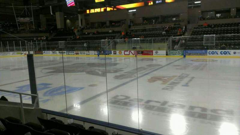 Seating view for Ralston Arena Section 113 Row D Seat 13