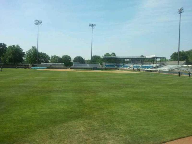 Seating view for Harry C. Pohlman Field