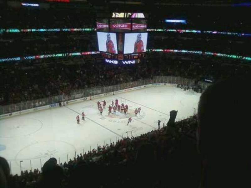 Seating view for United Center