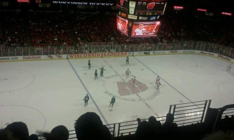 Seating view for Kohl Center Section 324