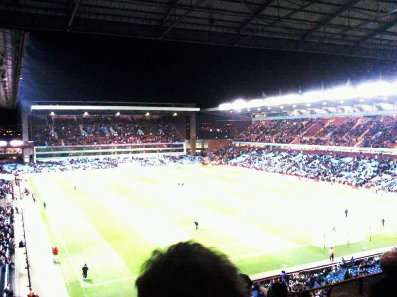 Seating view for Villa Park Section holte end upper Row 5 Seat 212