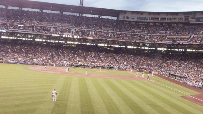 Seating view for PNC Park Section 235 Row H Seat 18