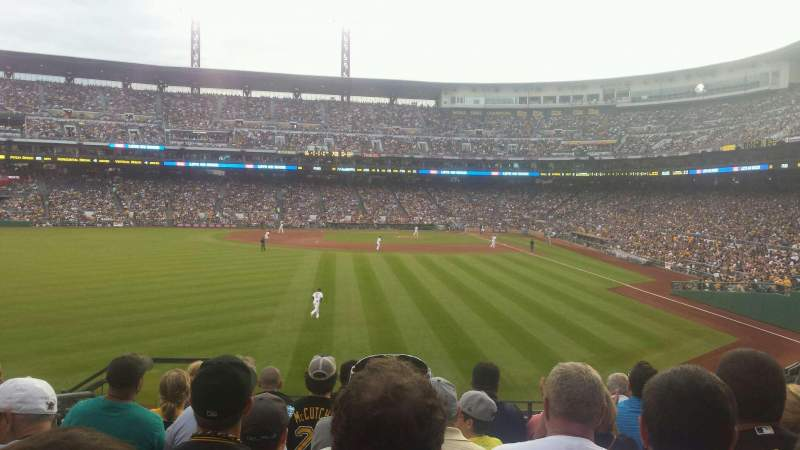 Seating view for PNC Park Section 235 Row H Seat 17