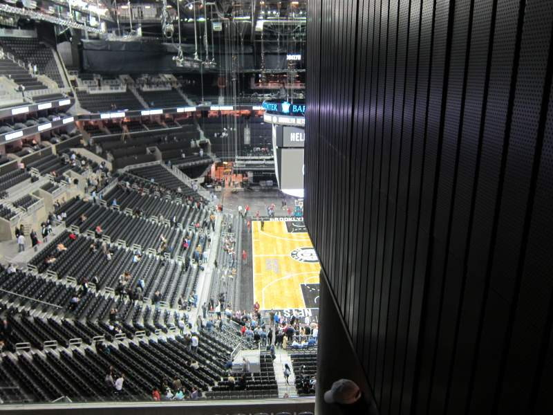 Seating view for Barclays Center Section 217 Row 13
