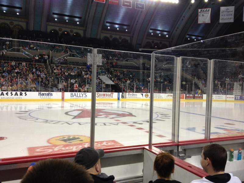 Seating view for Boardwalk Hall Section 105 Row DD Seat 9