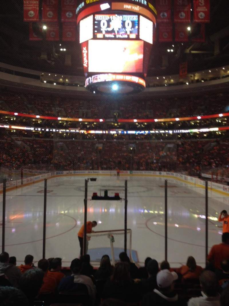 Seating view for Wells Fargo Center Section 119 Row 10 Seat 7