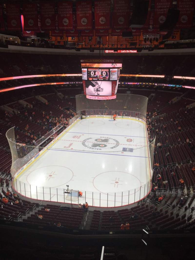 Seating view for Wells Fargo Center Section 207A Row 8  Seat 18