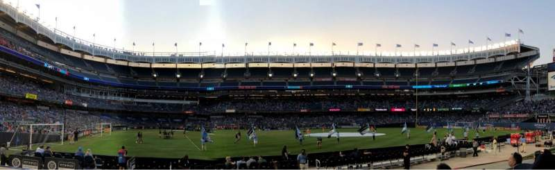 Seating view for Yankee Stadium Section 105 Row 4 Seat 12