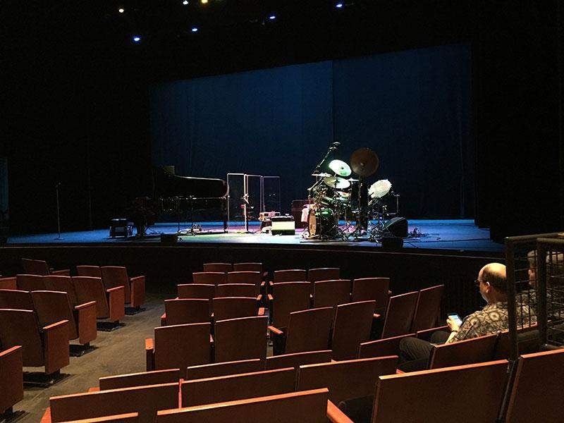 Seating view for Zellerbach Theatre Section Premium Orchestra Row E Seat 4