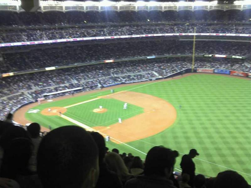 Seating view for Yankee Stadium Section 411 Row 13 Seat 5