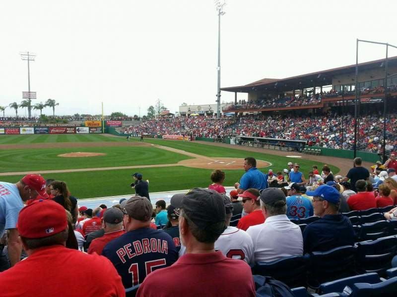Seating view for Spectrum Field Section 115 Row 16 Seat 16