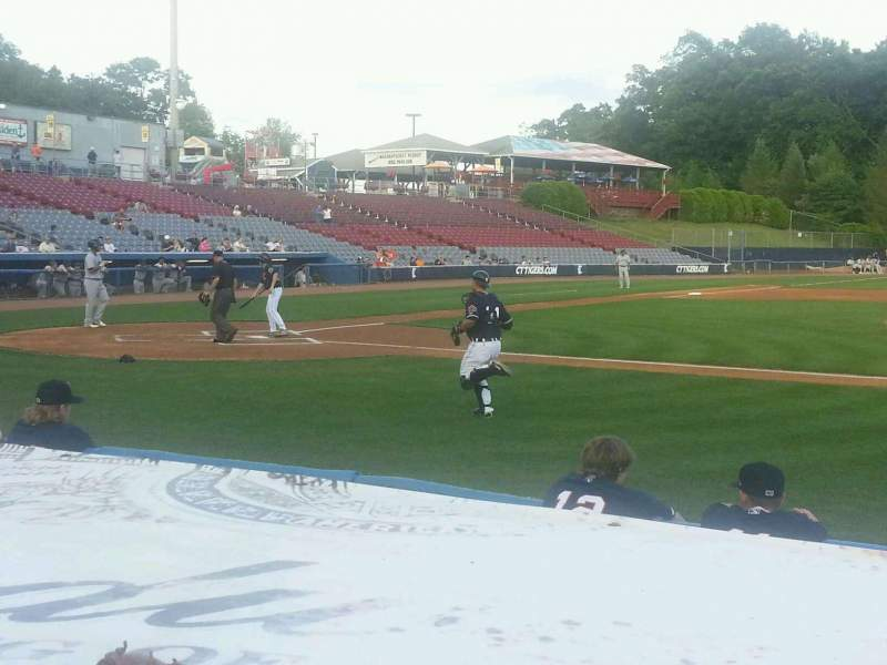 Seating view for Dodd Stadium Section 6 Row B Seat 10