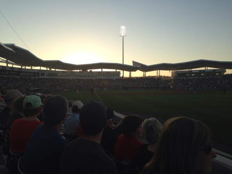 Seating view for JetBlue Park Section 119 Row 7 Seat 10