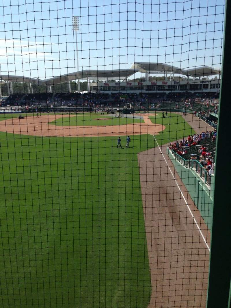 Seating view for JetBlue Park Section Monstah