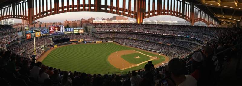 Seating view for Yankee Stadium Section 428 Row 13 Seat 3