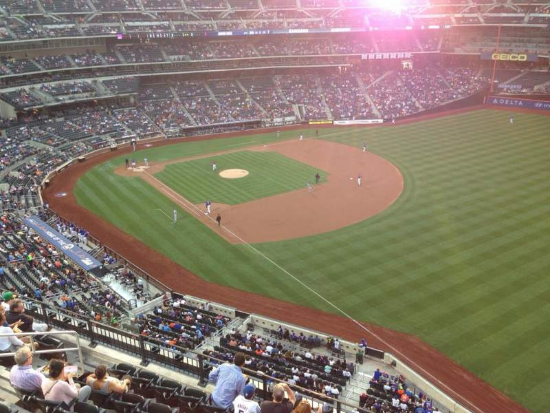 Seating view for Citi Field Section 501 Row 1 Seat 1