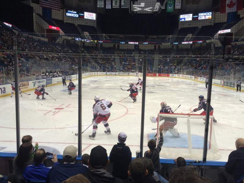 Seating view for XL Center Section 122 Row G Seat 2