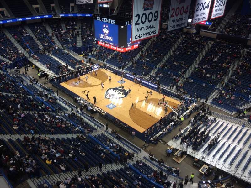 Seating view for XL Center Section Executive Suite Row 211