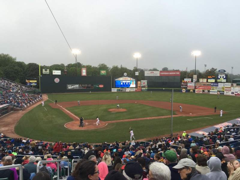 Seating view for Hadlock Field Section GA