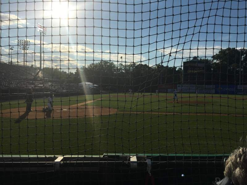 Seating view for New Britain Stadium Section 106 Row B Seat 3
