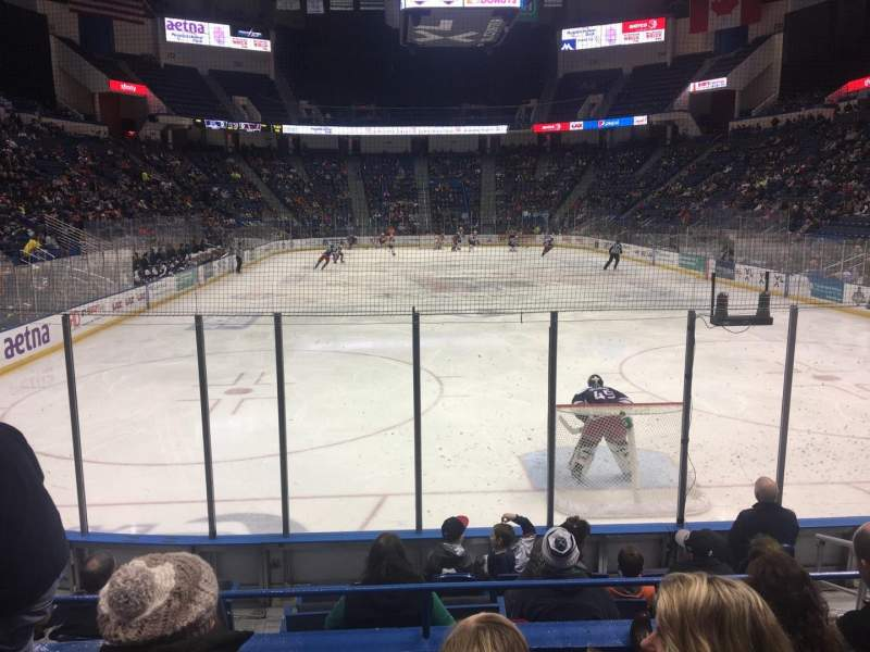 Seating view for XL Center Section 122 Row K Seat 5