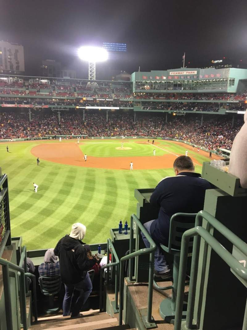 Seating view for Fenway Park Section Monstah