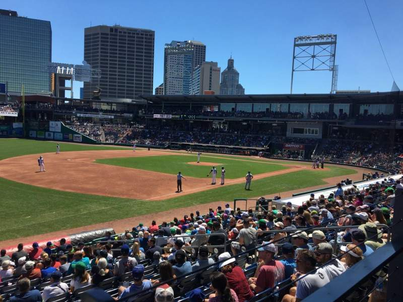 Dunkin' Donuts Park, section: 119, row: R, seat: 10