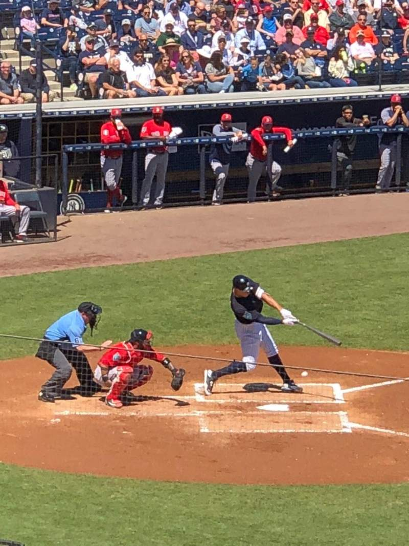 Seating view for George M. Steinbrenner Field Section 205 Row I Seat 19