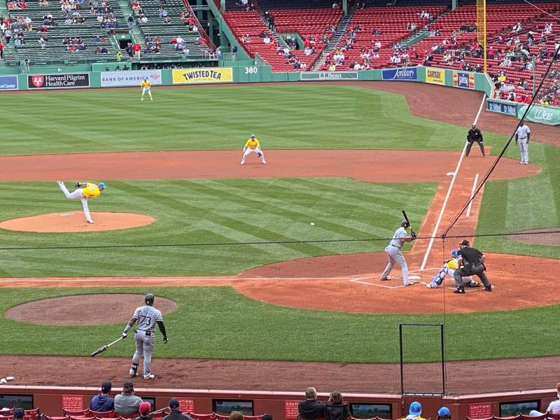 Seating view for Fenway Park Section Field Box 24 Row 10 Seat 6