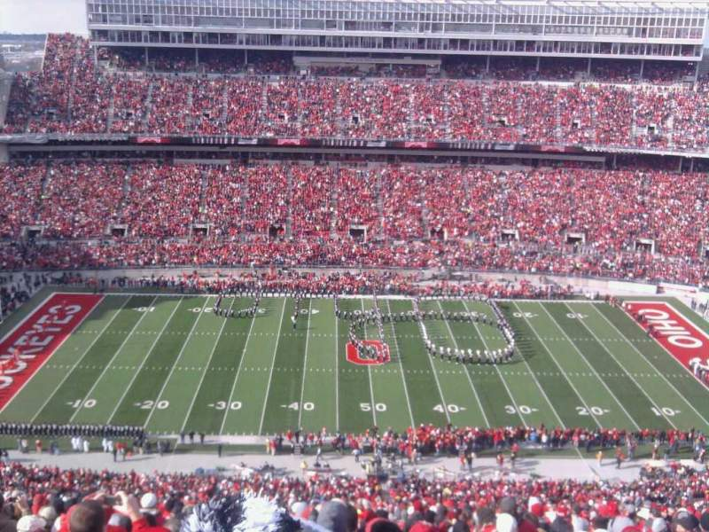 Seating view for Ohio Stadium Section 22C