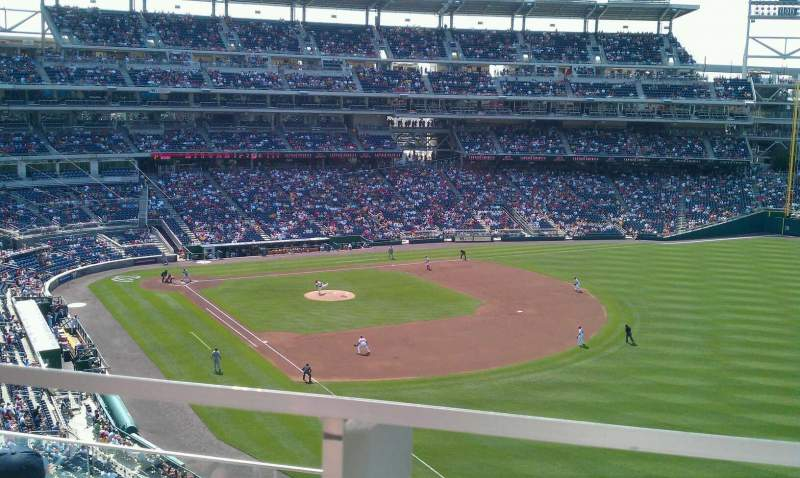 Seating view for Nationals Park Section 228 Row D Seat 1