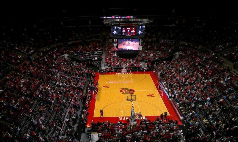 Seating view for Value City Arena Section 314 Row P Seat 21