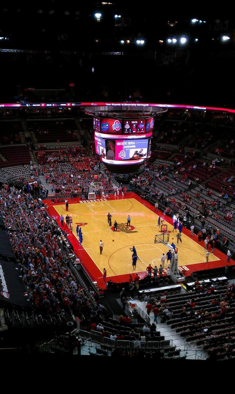 Seating view for Value City Arena Section 333 Row N Seat 10