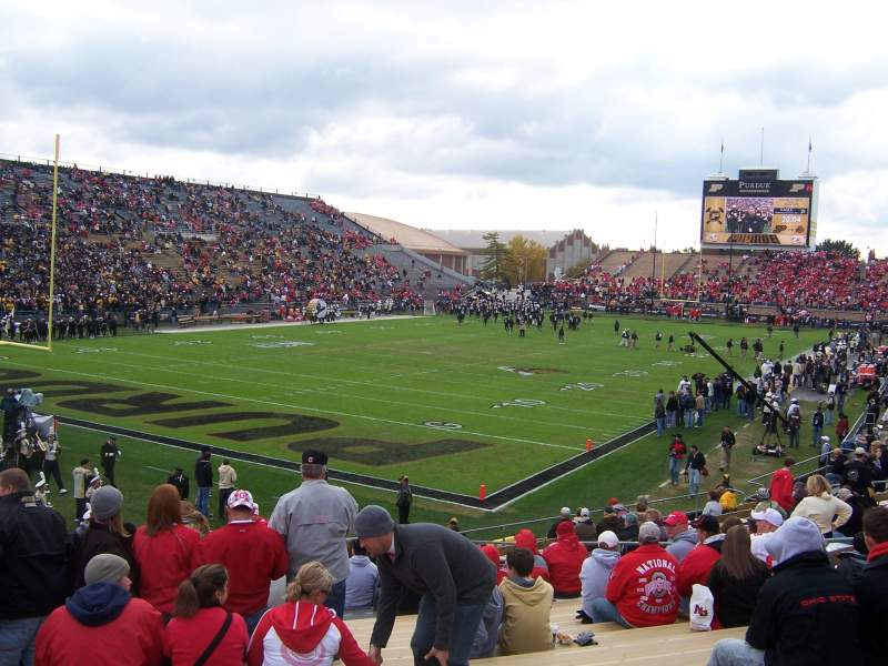 Seating view for Ross-Ade Stadium Section 119 Row 17 Seat 8