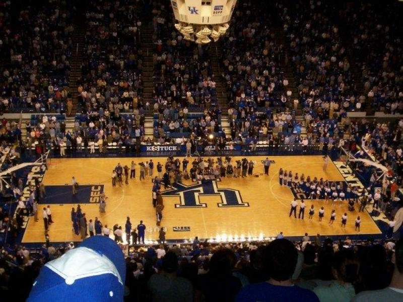 Seating view for Rupp Arena Section 231 Row Z Seat 28
