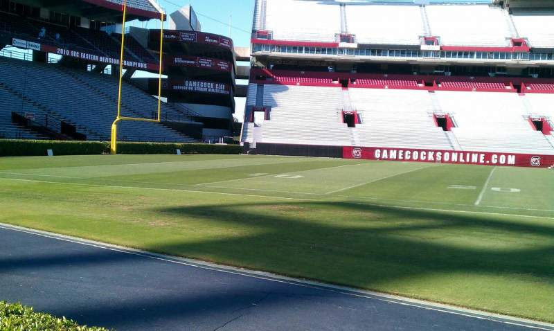 Seating view for Williams-Brice Stadium Section 20 Row A2 Seat 10