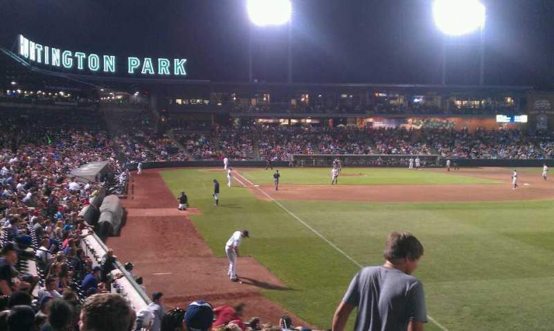 Seating view for Huntington Park Section 1 Row N Seat 9