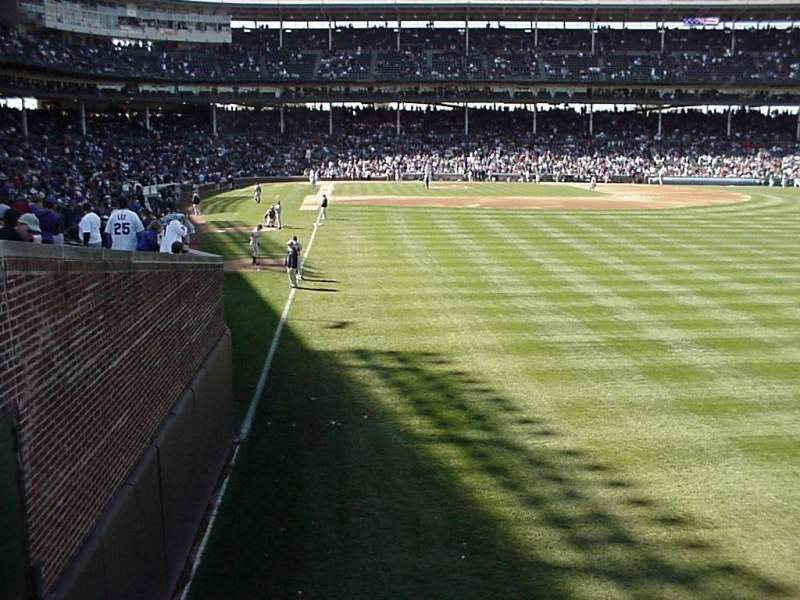 Seating view for Wrigley Field Section 318