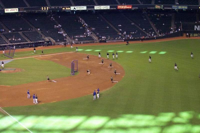 Seating view for Chase Field Section 301 Row 5 Seat 11