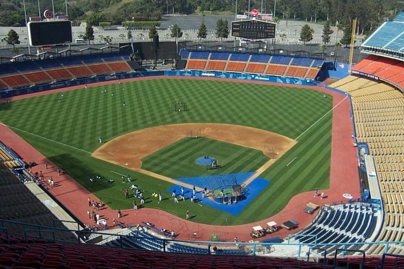 Seating view for Dodger Stadium Section 5TD
