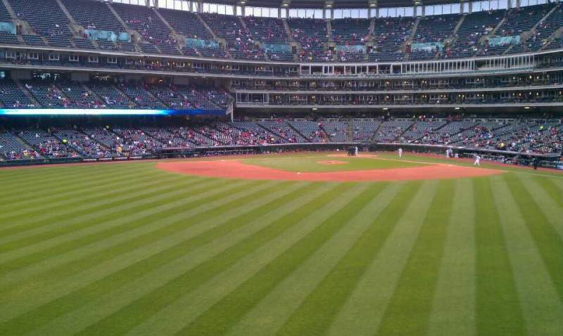 Seating view for Progressive Field Section 184 Row C Seat 13