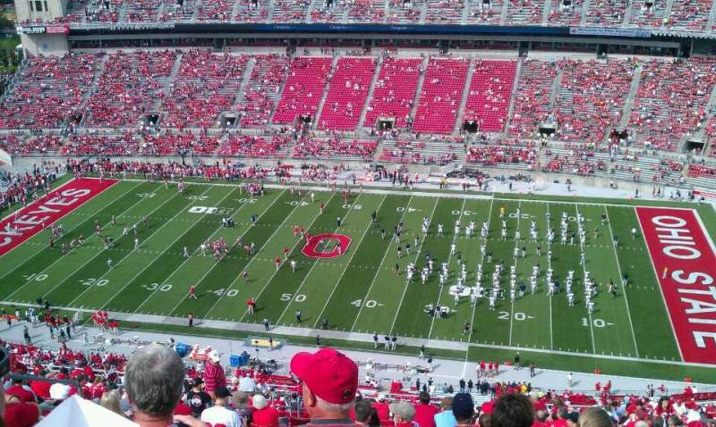 Seating view for Ohio Stadium Section 18C Row 41 Seat 31
