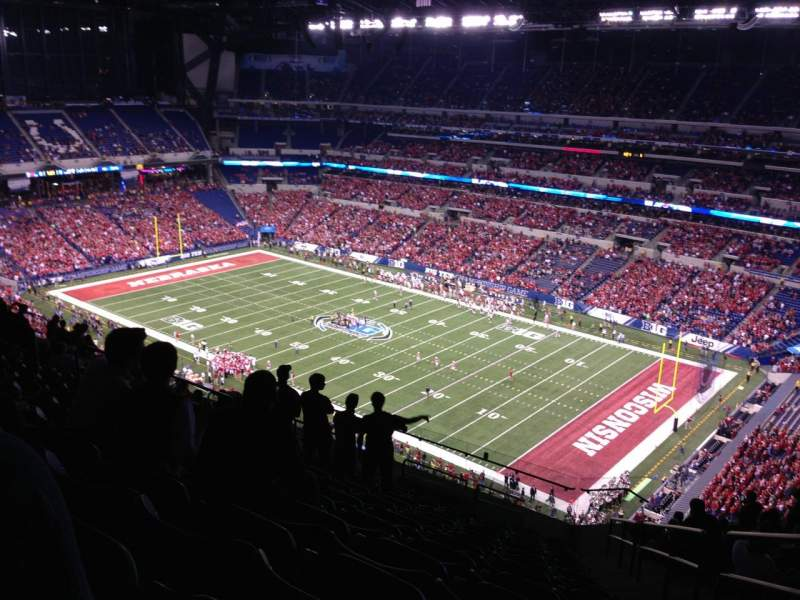 Seating view for Lucas Oil Stadium Section 634 Row 16 Seat 2