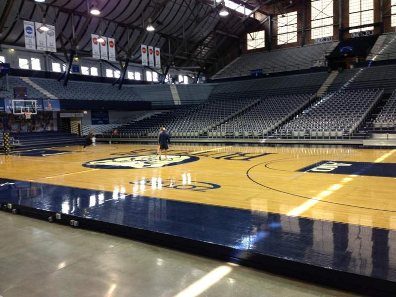 Seating view for Hinkle Fieldhouse Section 2 Row C Seat 1