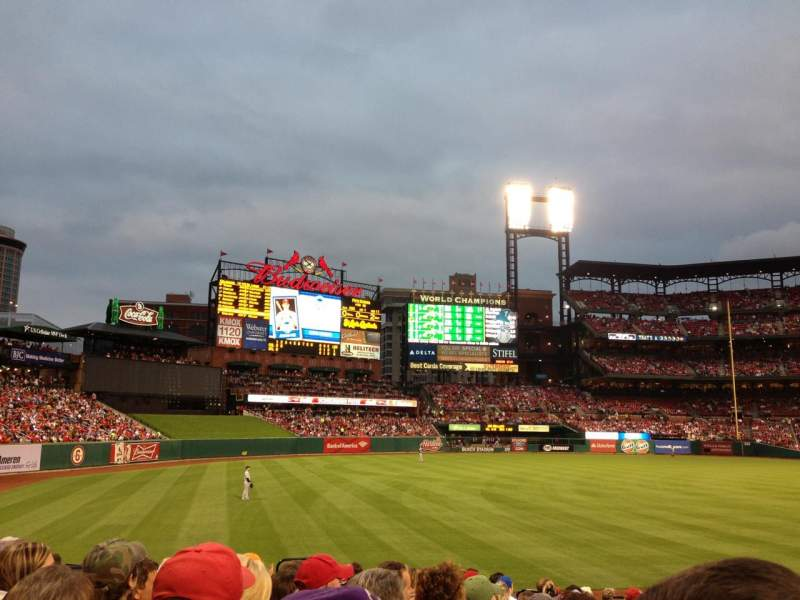 Seating view for Busch Stadium Section 166 Row 9 Seat 3