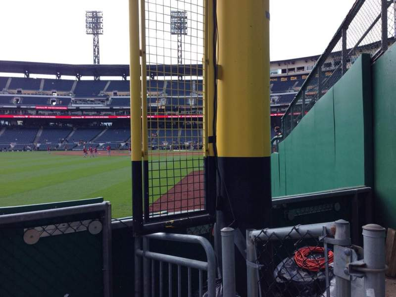 Seating view for PNC Park Section 133 Row C Seat 1
