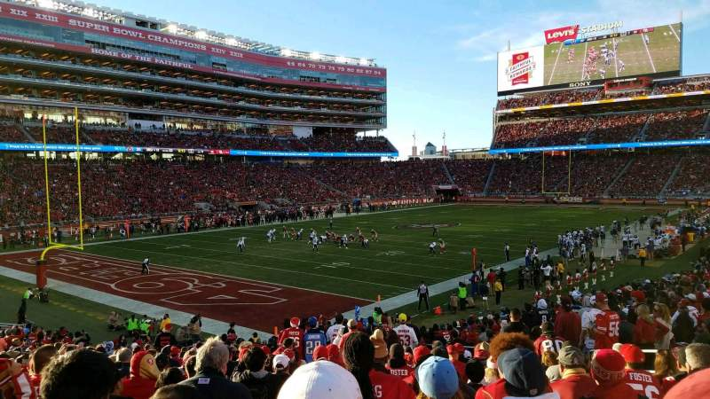 Levi's Stadium, section: 123, row: 24, seat: 18