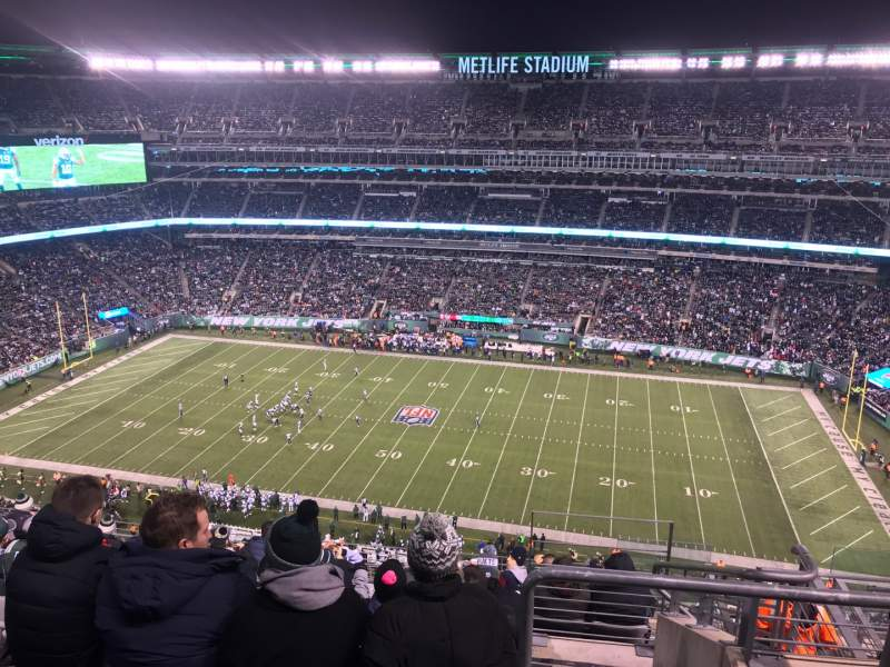 Seating view for MetLife Stadium Section 312 Row 14 Seat 5